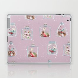 Christmas Pattern Pink Laptop & iPad Skin