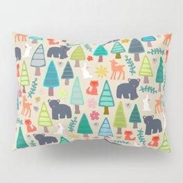 summer woodland Pillow Sham