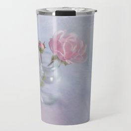 Square with a small rose Travel Mug