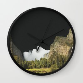 Moment of Silence Wall Clock