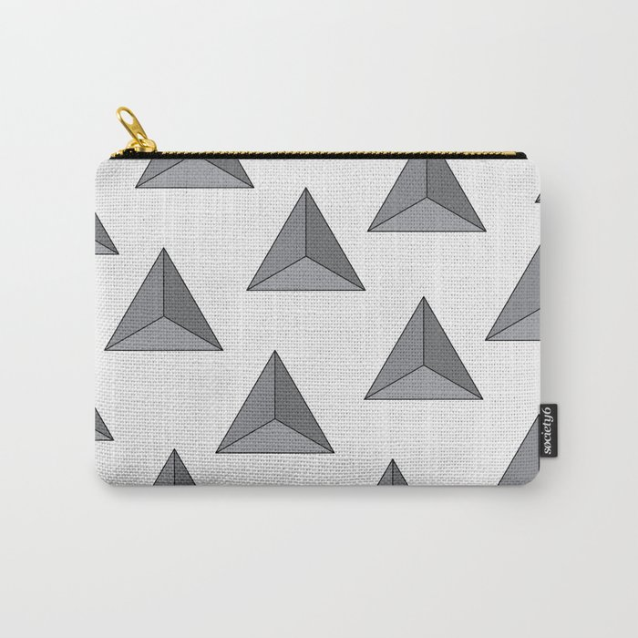 """""""Tri-angular"""" Carry-All Pouch"""