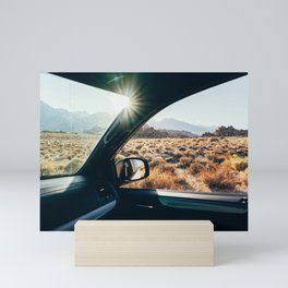 Roadtrip Sunset Mini Art Print