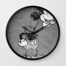 headless mouse Wall Clock