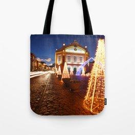 Christmas in Ribeira Grande Tote Bag