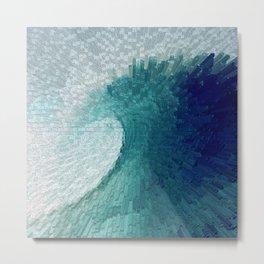 Big wave II Metal Print