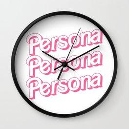 PersonaSlim Fit Wall Clock
