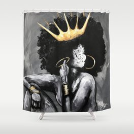 Naturally Queen VI Shower Curtain