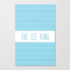 the ice king pattern...mathamatical! Canvas Print