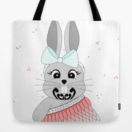 Miss Rapeti (peachy perfect) Tote Bag
