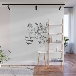 To the Fridge and Back Again Wall Mural