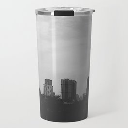 Sao Paulo Black and White Travel Mug