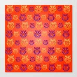 Owl Nation Canvas Print