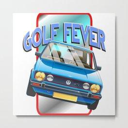 vw golf tee Metal Print