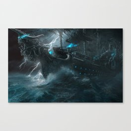 The Galley of Death Canvas Print