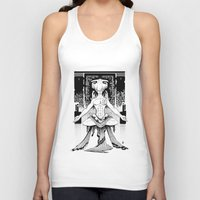 meditation Tank Tops featuring Meditation. by Dmitry Ilyutkin