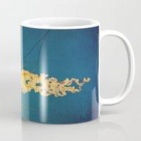 jellyfish Mugs featuring Jellyfish by Retro Love Photography