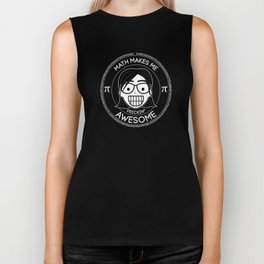 Frickin Awesome - Math Girl Biker Tank