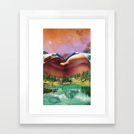 When I Dream Of You Framed Art Print
