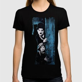KINO - Chaplin and the kid T-shirt