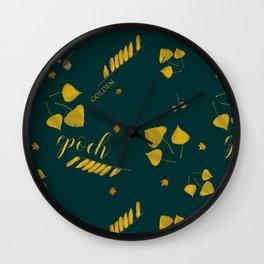 Golden epoch Wall Clock