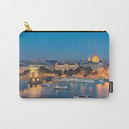Blue hour on Danube Carry-All Pouch