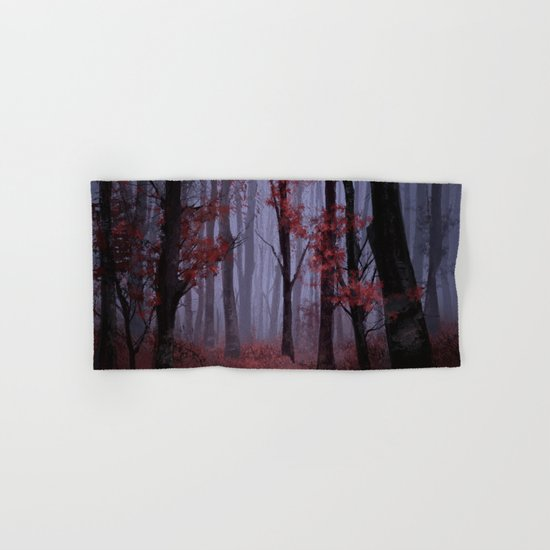red forest 2 Hand & Bath Towel