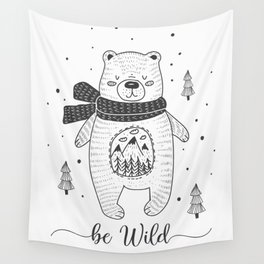 BE WILD! Wall Tapestry