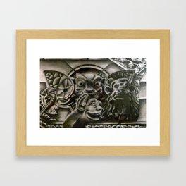 Gather the Gargoyles Framed Art Print