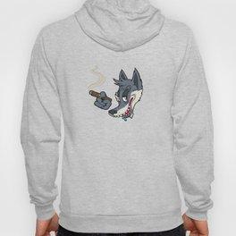 Smokey Wolf Hoody