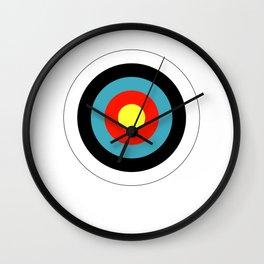 Bullseye Archery Target Shooter Rings Wall Clock