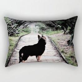 A Puppy's Adventure Rectangular Pillow