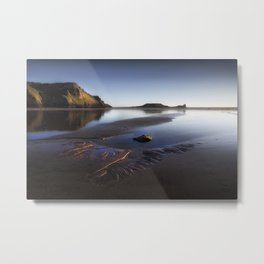 Worms Head on the Gower peninsula Metal Print