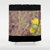 wild things Shower Curtains featuring Wild Things by Allena Noel Design