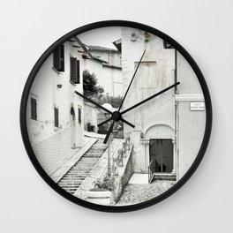 Old Italian city Wall Clock
