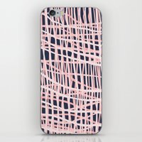Net Bush and Navy iPhone Skin