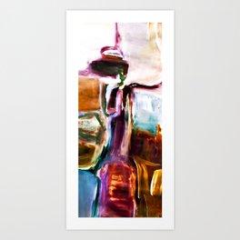 COLOUR OBSESSION no6 Art Print