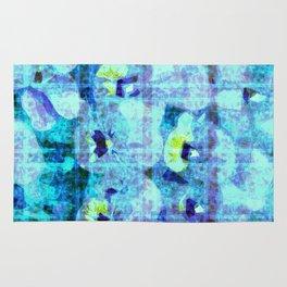 flower kirsche kaleidoskope Rug