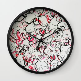 Bunnyliscious Wall Clock