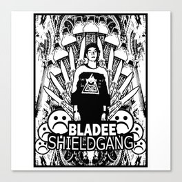 Yung Lean - Shield Gang Canvas Print