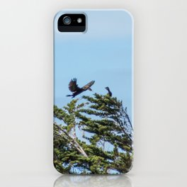 Little Black Shags iPhone Case