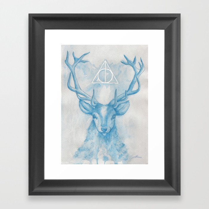 Expecto Patronum Framed Art Print