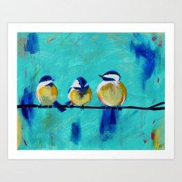 Tweet, Tweet Art Print