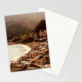 Summer meltdown - Cinque Terre, Italy  Stationery Cards