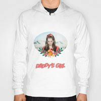 ultraviolence Hoodies featuring daddy's girl by Tiaguh