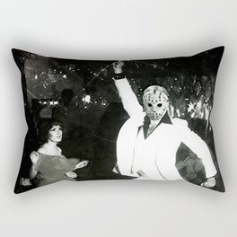 JASON VORHEES AS JOHN TRAVOLTA Rectangular Pillow