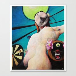 Only The Blind Knows || Cyclop || Sphynx || Eye Canvas Print