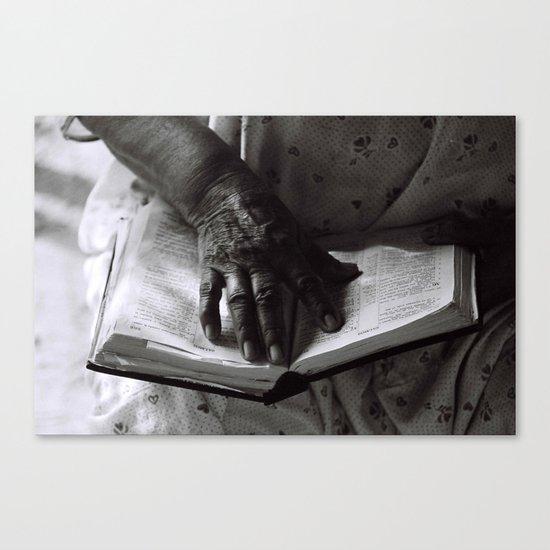 Líneas de Sabiduría (Lines of Wisdom) Canvas Print