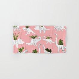 Dinosaurs & Succulents Hand & Bath Towel