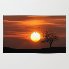 AFRICAN SUNSET Rug
