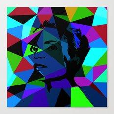 Pop Art Movie Star No. 3 Canvas Print